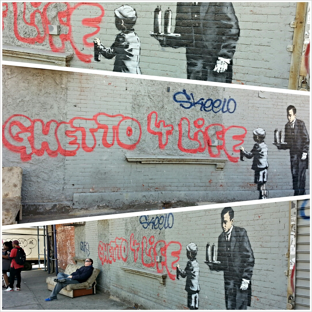 'Ghetto for Life' mural ignites debate