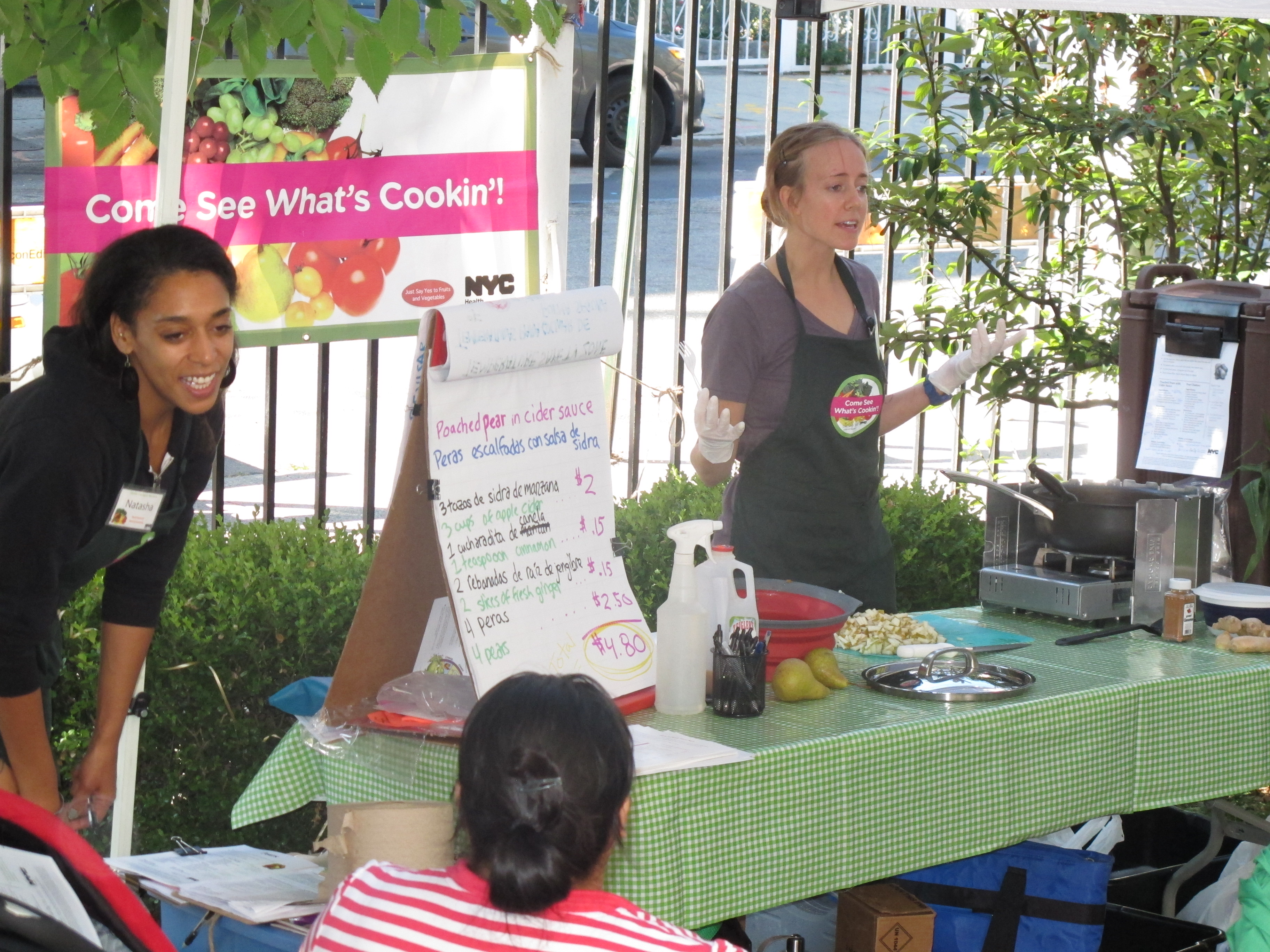 Padre Plaza offers cooking lessons