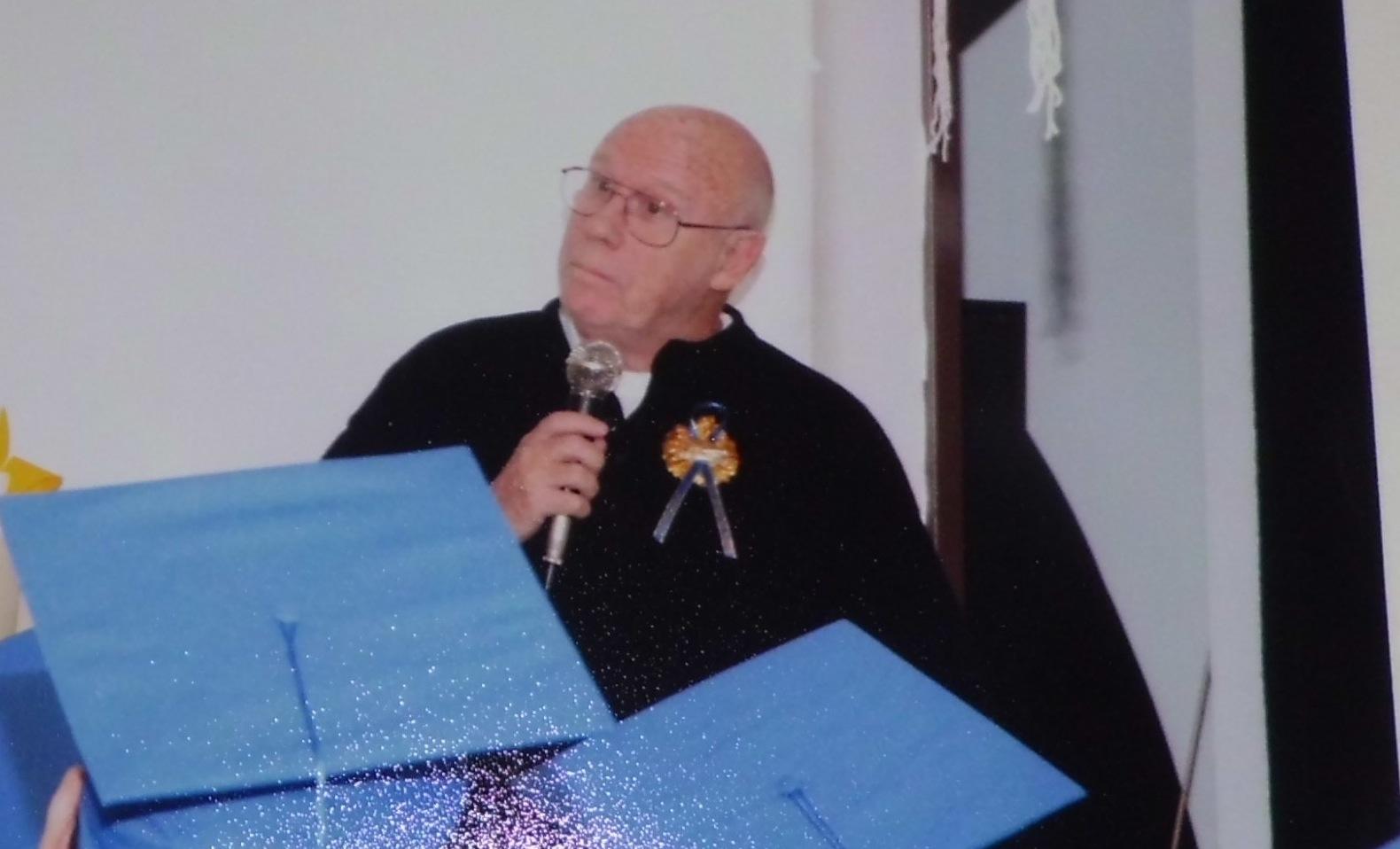 Father Grange dead at 73