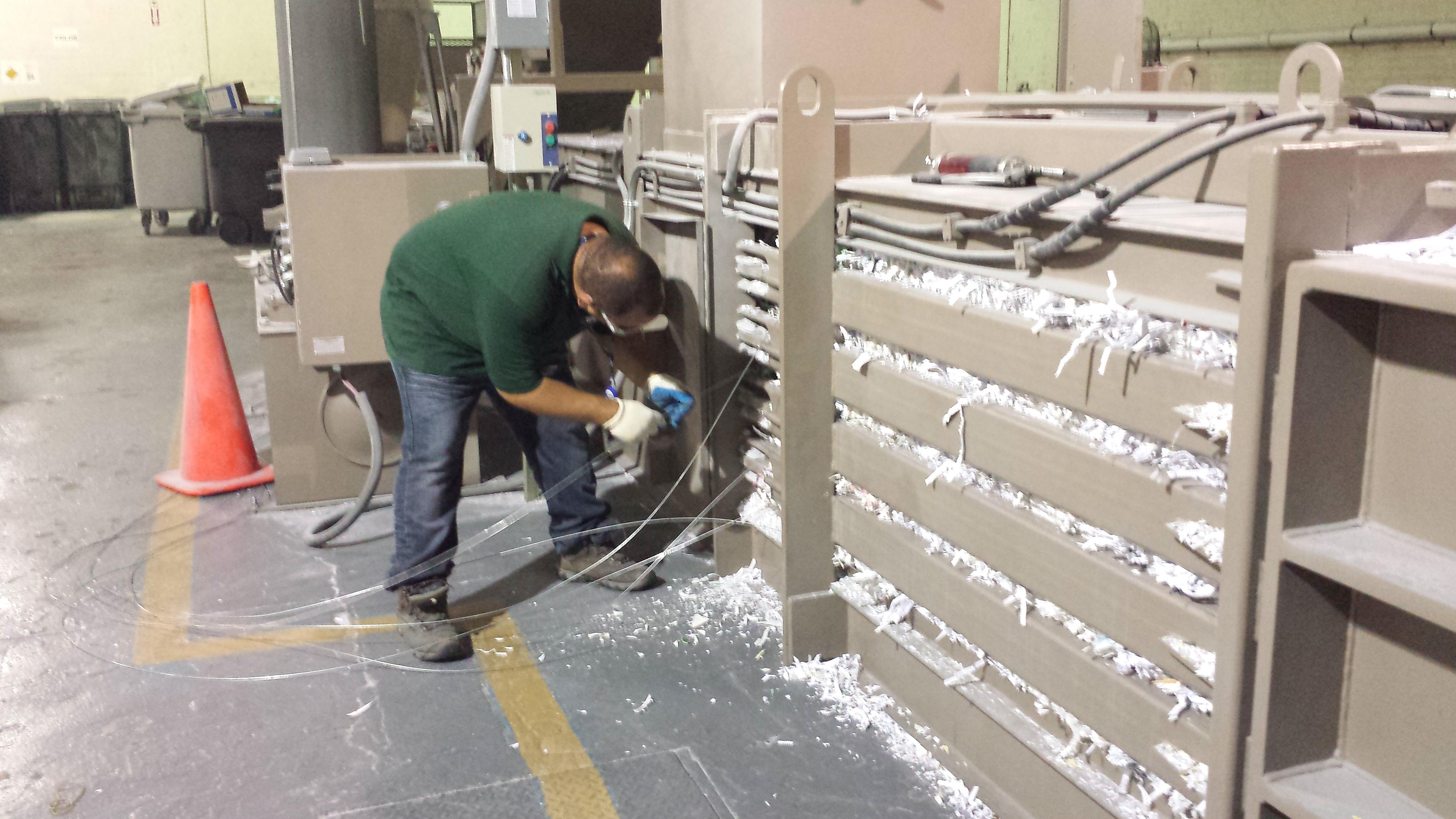 Paper shredders profit in Port Morris