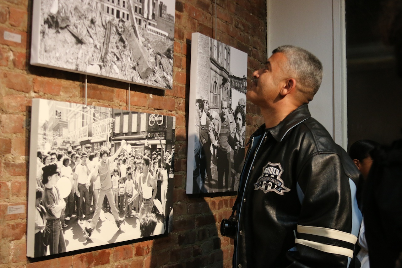 Photographers put personal works on display