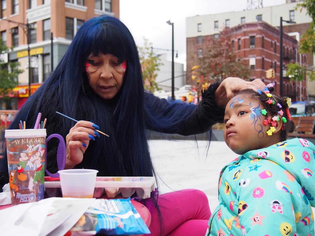 Pumpkin festival held at long-awaited Roberto Clemente Plaza