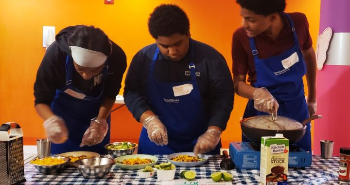 Teen chefs match skills in community cook-off