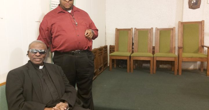 Pastor transforms Melrose church into a haven for the blind