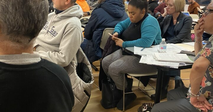 Residents talk trash: sanitation tickets cause a stir at community board
