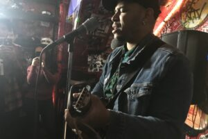 Bronx Native hosts year's first open mic night