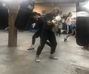 Fighter ignores doubters on path to turning pro