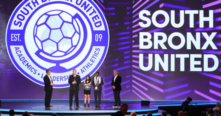 South Bronx United wins International Sport for Good Award