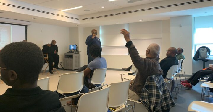New support group encourages black men to open up