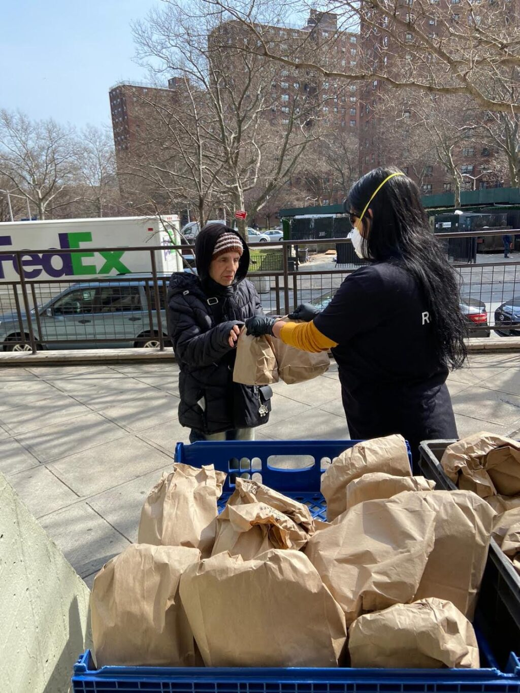 Food Distribution Bronx COVID-19