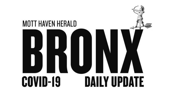 Bronx Covid-19 data (updated daily)