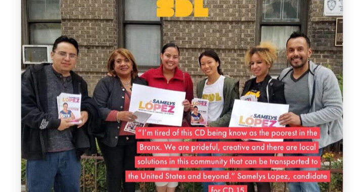 Op ed: Think Global, Act Local – Why I support Samelys Lopez for Congress in NY15