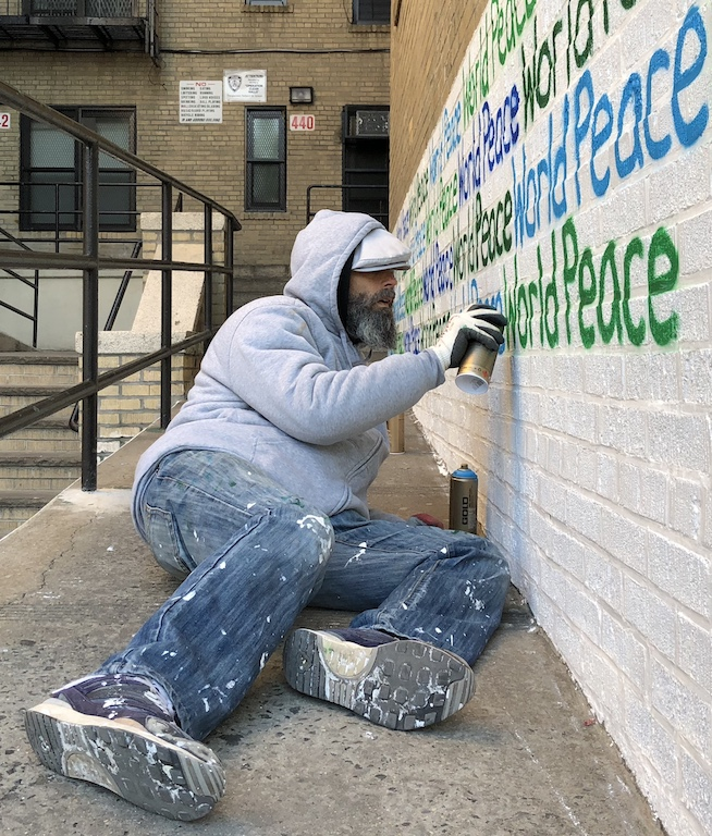 Mott Haven is latest stop on World Peace mural tour