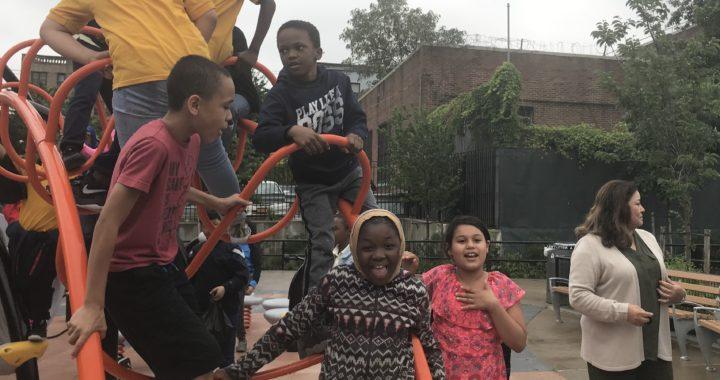 New Melrose park dedicated to relentless community activist