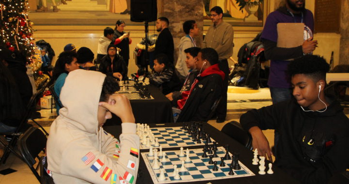 Young Bronxites throw down at annual chess tournament
