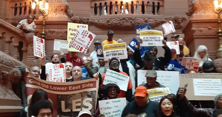 NYCHA tenants continue to lobby for additional funding for public housing