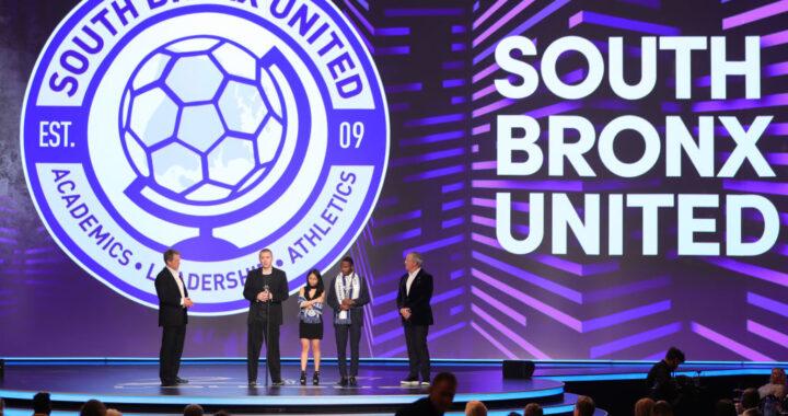 South Bronx United wins International Sport for Good Award