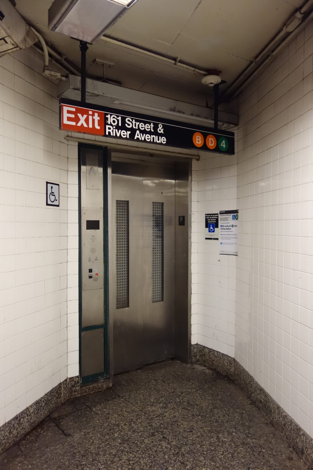 Out-of-service elevators are just one of many reasons why disabled people have asked for the kind of work-from-home accommodations many people have now. Source: Tdorante10, CC BY-SA 4.0, https://commons.wikimedia.org/w/index.php?curid=68291195