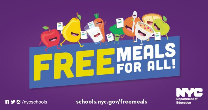 NYC provides free meals for all New Yorkers