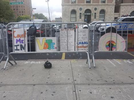 Mott Haven families unite Sundays to remind their neighbors: Black Lives Matter