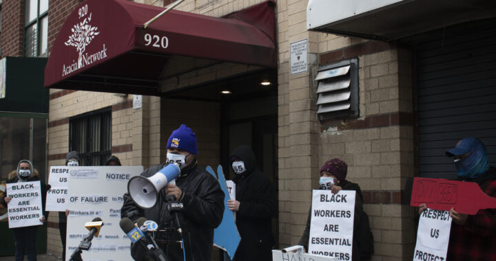 Workers demand more protection from Bronx homeless shelter network