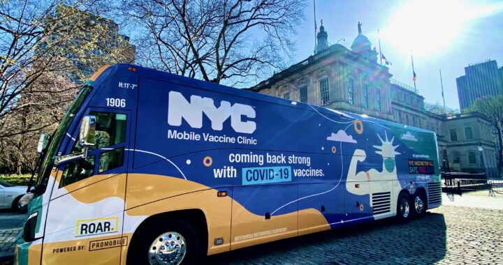 City launches Mobile Vaccination Fleet and Expands Walk-in Sites for Seniors