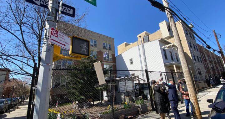 Late reverend honored in street co-naming ceremony
